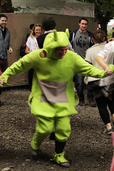 Funny costumes at Castlepalooza
