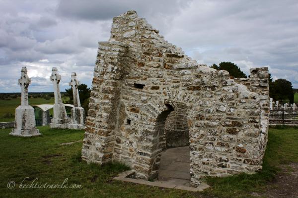 Ruins at Clonmacnoise