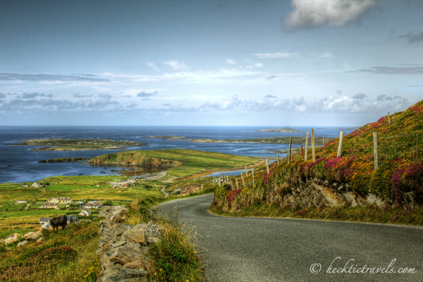 The Road to the Sea in Connmeara, Ireland