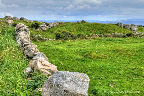Connemara Ireland - A Rock Fence