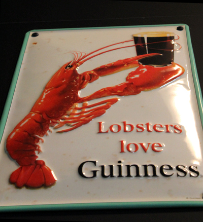 Even Lobsters Love Guinness