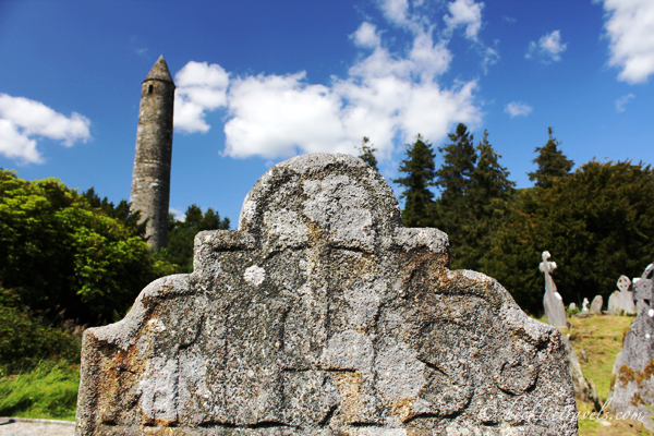 The Ruins at Glendalough, Ireland