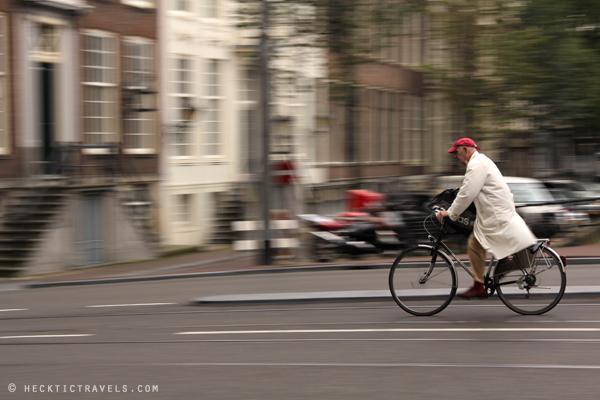 Cyclist - Amsterdam