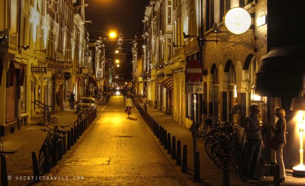 Side street, Amsterdam