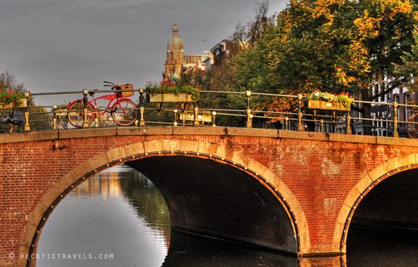 Dusk, Amsterdam