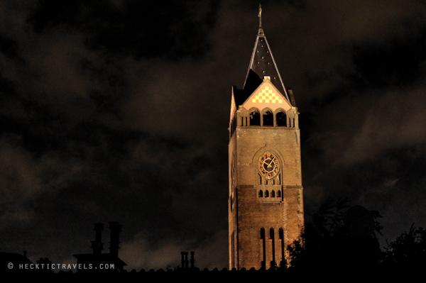 Clock tower, Amsterdam