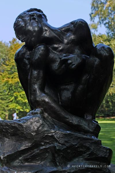 Kroller Muller sculpture garden - Rodin