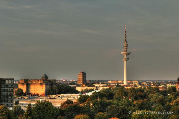 Skyline at Sunset - Hamburg, Germany