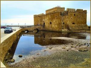 Moorish harbour castle