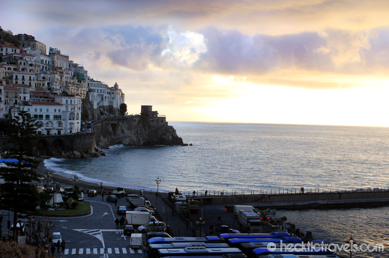 View from Amalfi patio