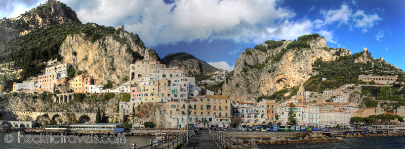 Amalfi panoramic
