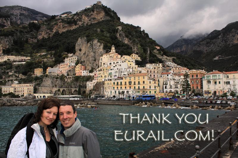 Thank you Eurail