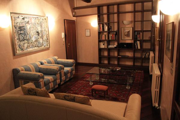Casa Dei Pittori - Living Room