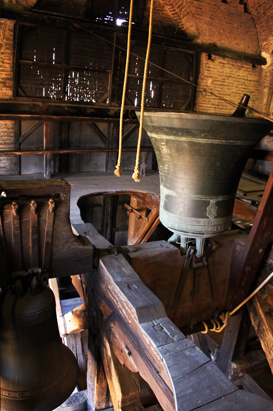 The bells at Cathedral San Petronio