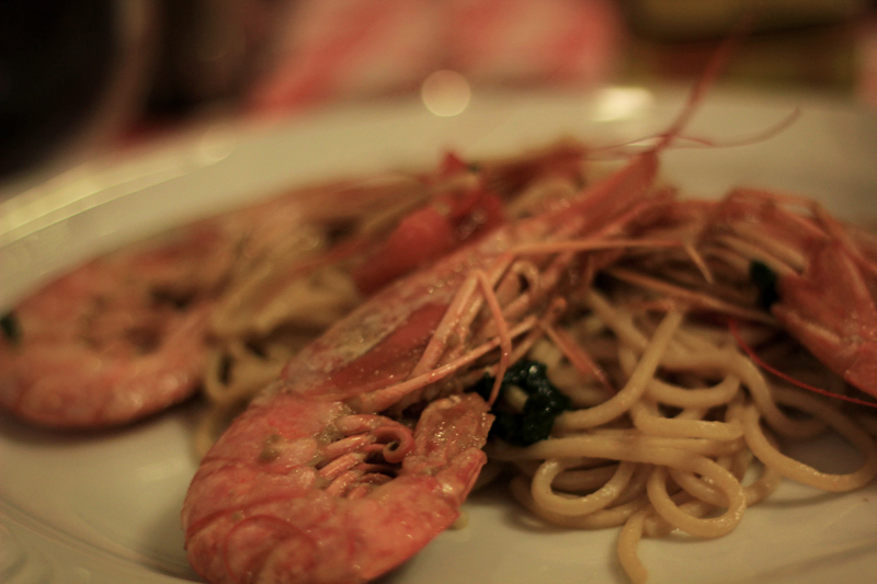 Bologna - Spaghetti with Shrimp