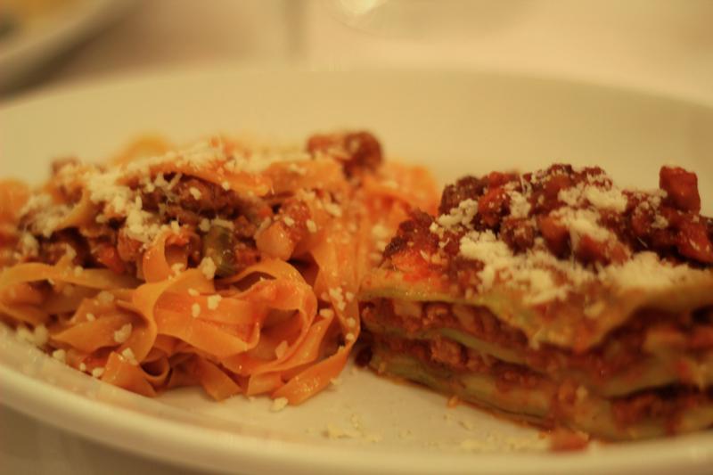 Authentic Tagliatelle and Lasagna