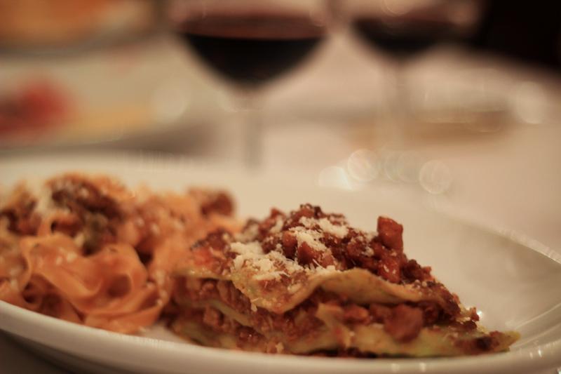 Bologna - Lasagne and Tagliatelle