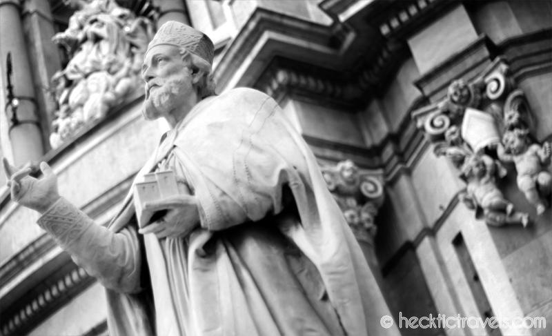 Catania, Sicily - statue
