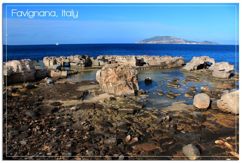Favignana coastline