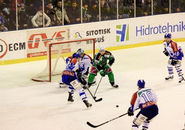 More game action - Croatia vs Slovenia