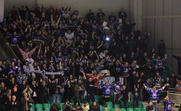 Croatia Hockey Fans