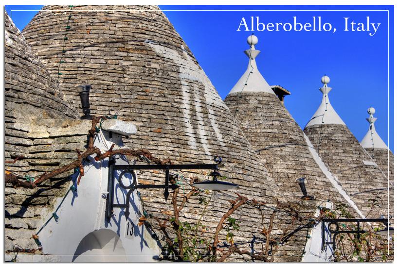 Trullis in Alberbello