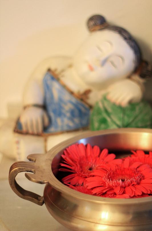 Lotus Blooming - entrance