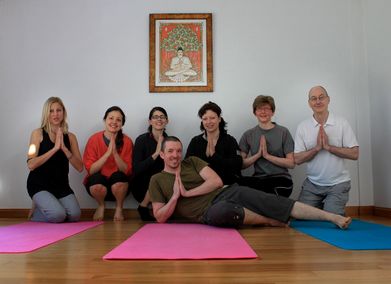 Lotus Blooming - yoga group