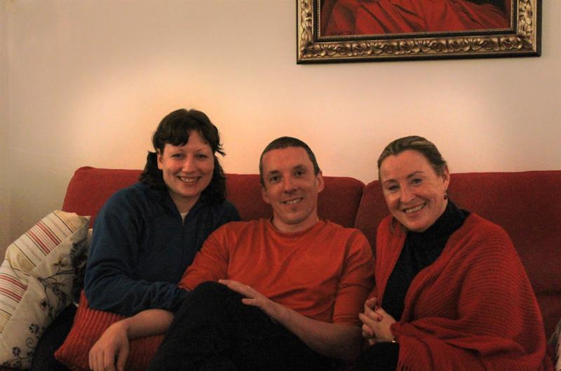 Lotus Blooming Yoga Retreat - Hanging out with Caroline