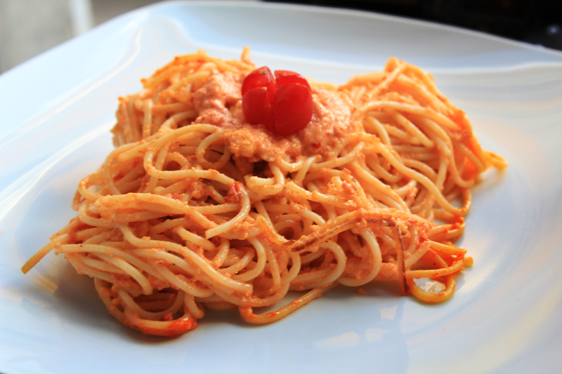 Trapani Pesto Spaghetti