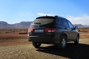 Merzouga Journeys Vehicle