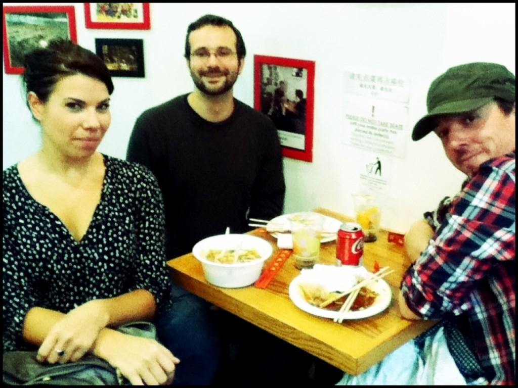 Kirsten, Aaron and Pete