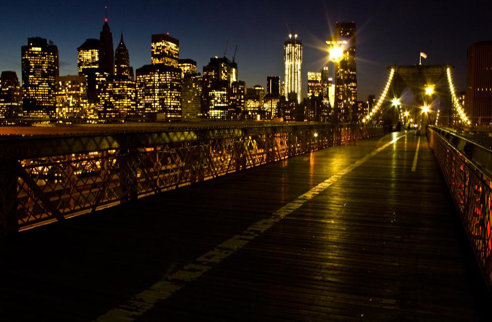 Brooklyn Bridge Walking Lane