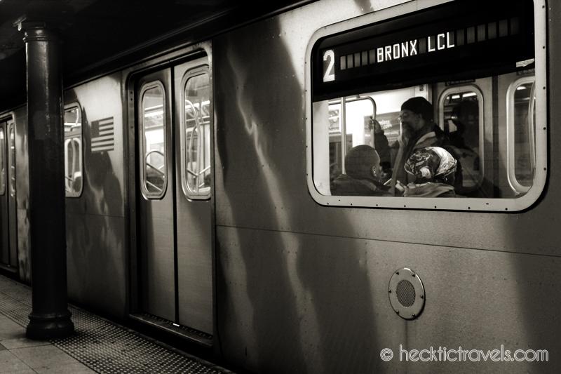 New York Subway - Bronx Bound