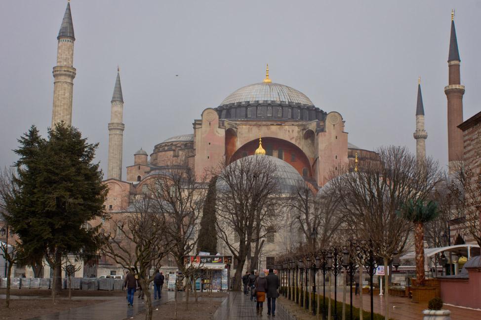Front of Hagia Sophia