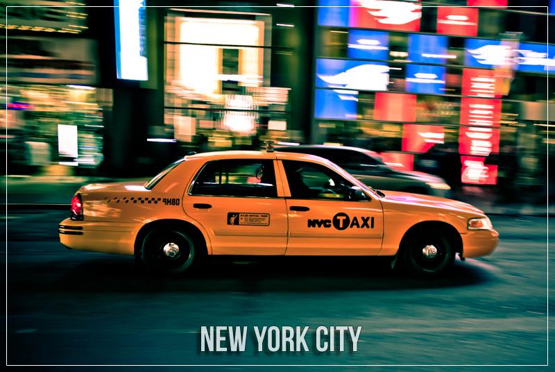 New York City Postcards Hecktic Travels