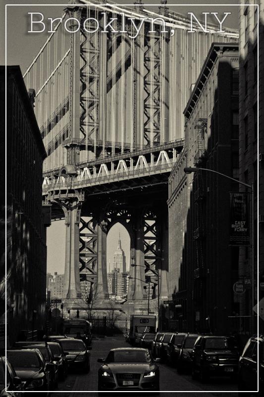 Manhattan Bridge Framing the Empire State