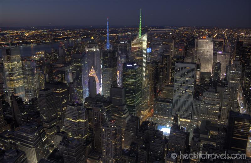Manhattan Lit Up