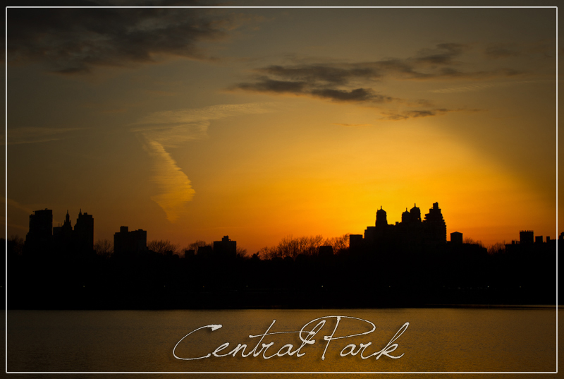 Sunset on Central Park