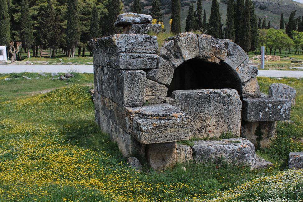 Tomb Hierapolis Turkey