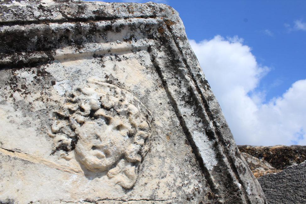 Architectural details - Hierapolis Turkey