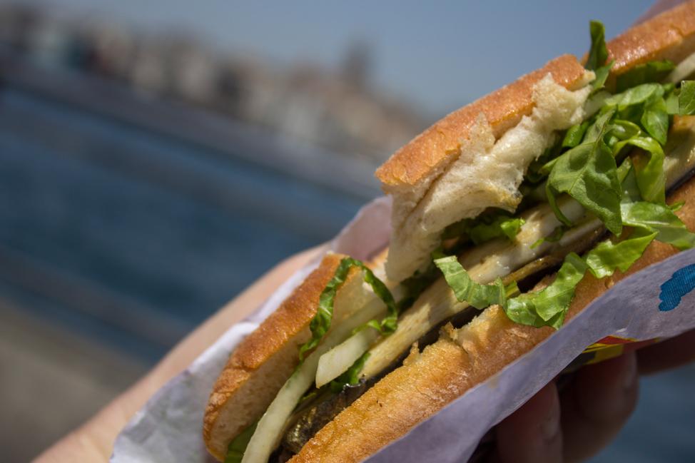 Balik Ekmek Fish Sandwich