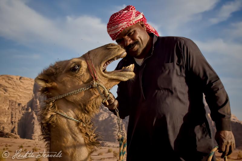 Bedouin guide, Wadi Rum, Jordan