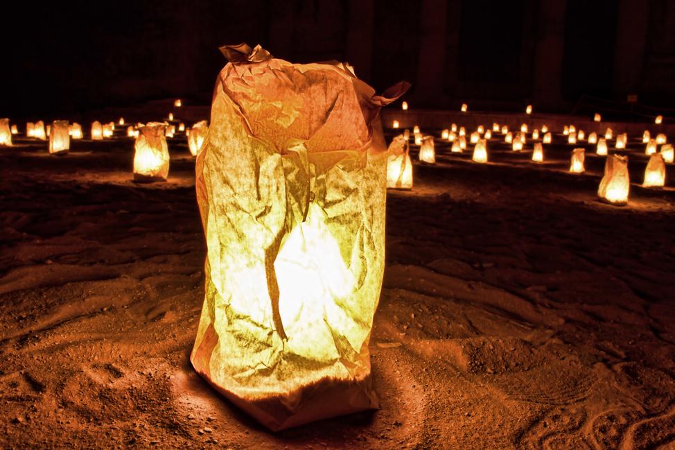 Candles-Petra