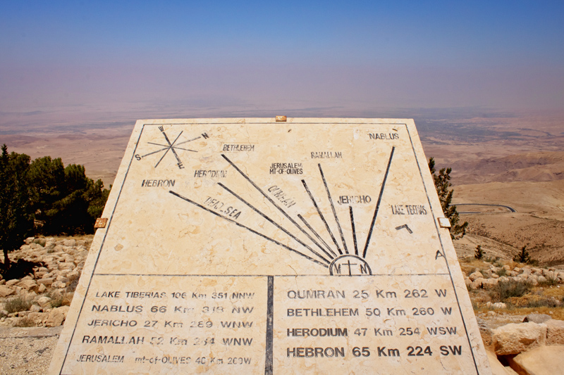 Promised Land from Mount Nebo