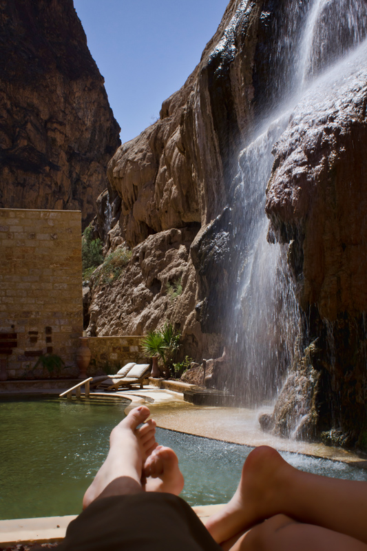 Romance At The Ma In Hot Springs In Jordan Hecktic Travels