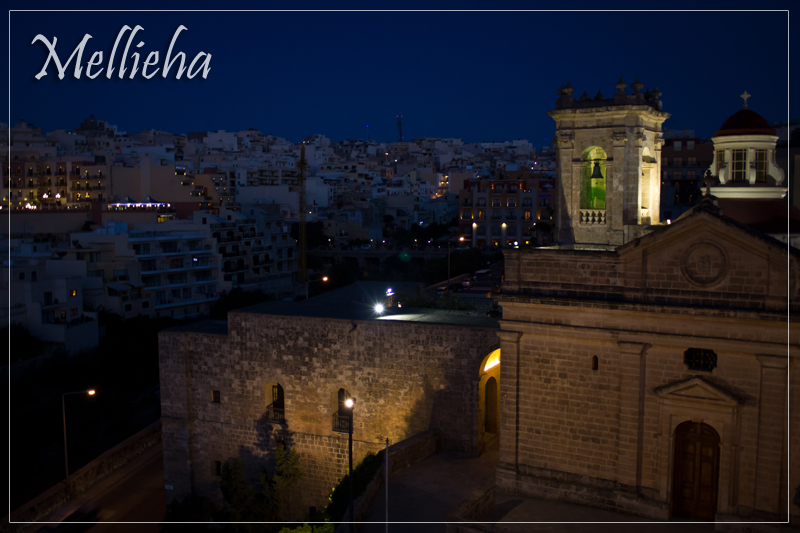 Mellieha at Dusk