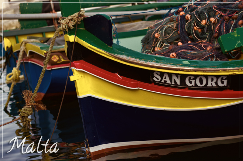 Malta's Fishing Boats
