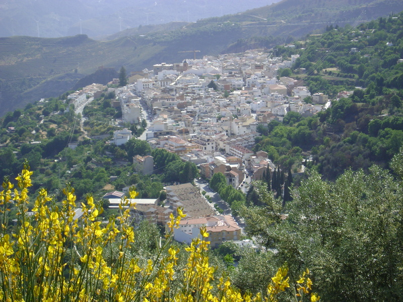 View of Lanjaron