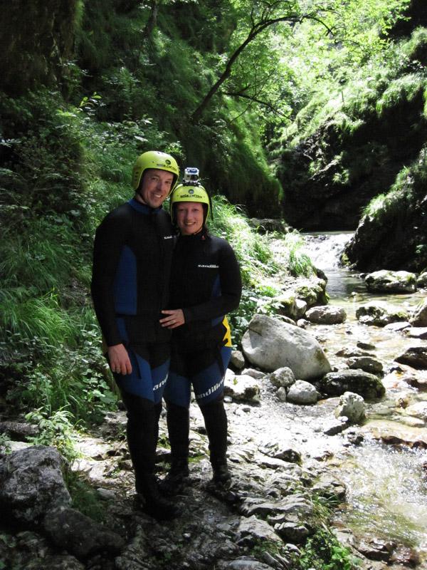 Susec Canyon, Slovenia